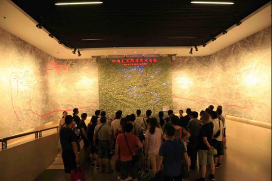 参观四渡赤水纪念馆