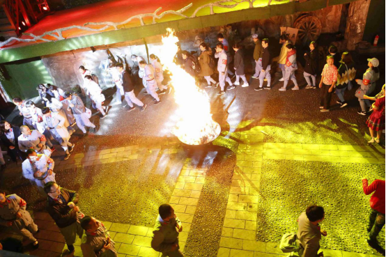 紅歌篝火晚會