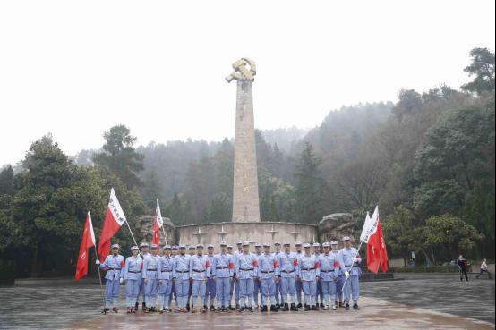 紅軍山合影
