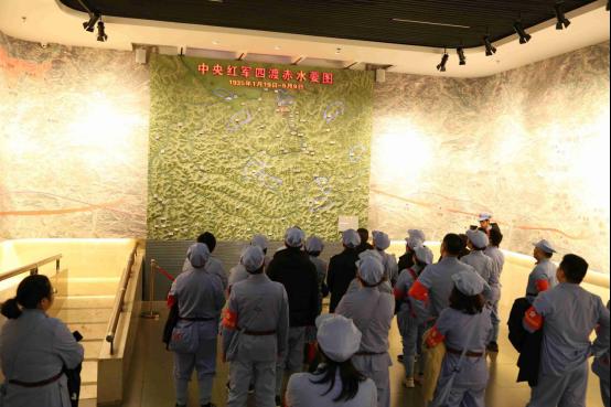 參觀四渡赤水紀念館