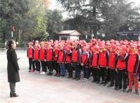贵州余庆中学师生前往遵义红军烈士陵园进行爱国教育,红军精神薪火相传育新人
