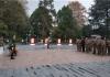 中国人民解放军陆军后勤部一行瞻仰遵义红军烈士陵园,厚植爱国主义情怀